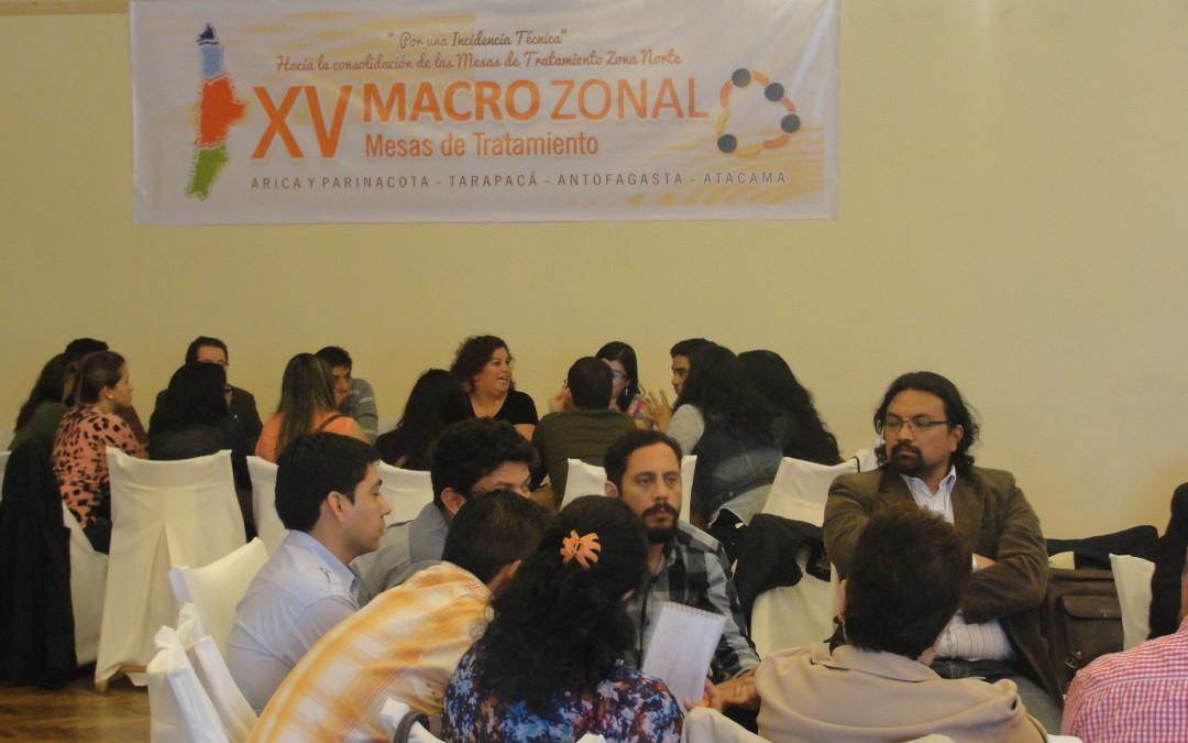 CORFAL participa activamente de XV Encuentro Macrozonal Norte de Tratamiento de Drogas