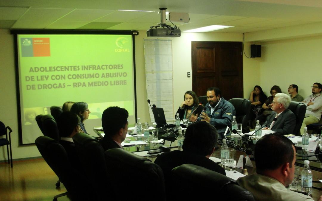 CORFAL expuso en Comisión de Justicia Penal de Arica y Parinacota
