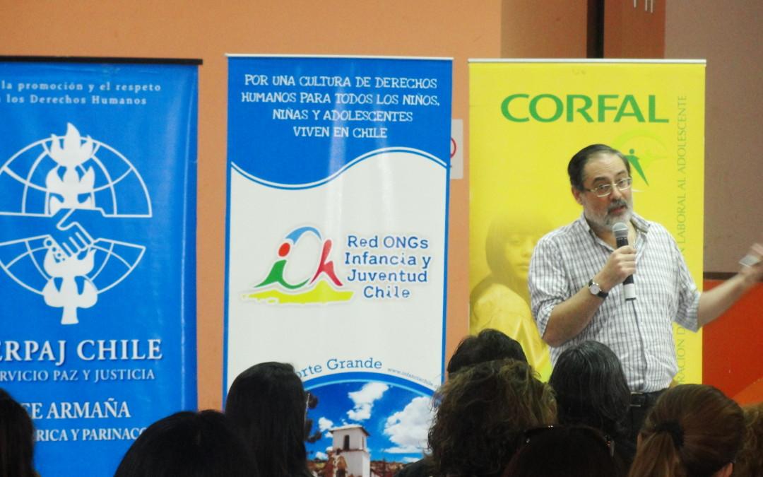 Sociedad Civil ariqueña analizó Proyecto de Ley de Garantías de Derechos de la Niñez