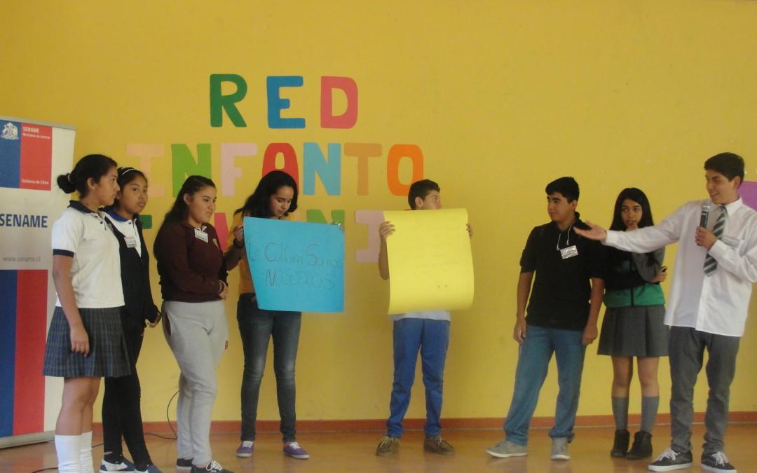 CORFAL participa de primer Encuentro Regional por la Integración de Niños, Niñas y Adolescentes