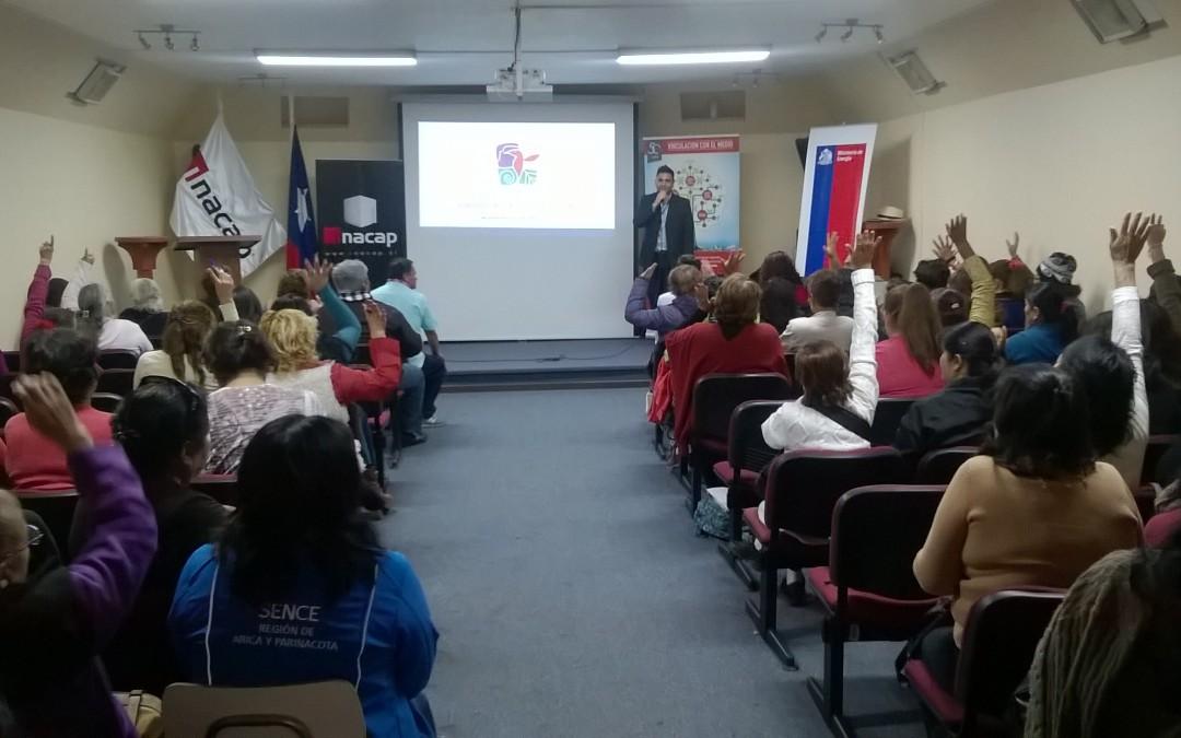 Seminario de Programa Inversión en la Comunidad – Mil Cupos entregó herramientas para trabajadores y trabajadoras