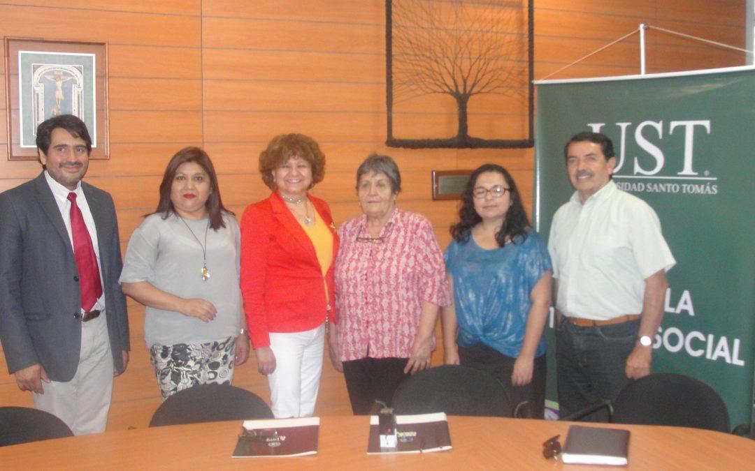CORFAL firma convenio con Universidad Santo Tomas sede Arica