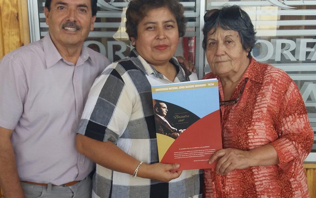 CORFAL firma importante convenio de colaboración con Universidad Nacional Jorge Basadre Grohmann de Tacna, Perú