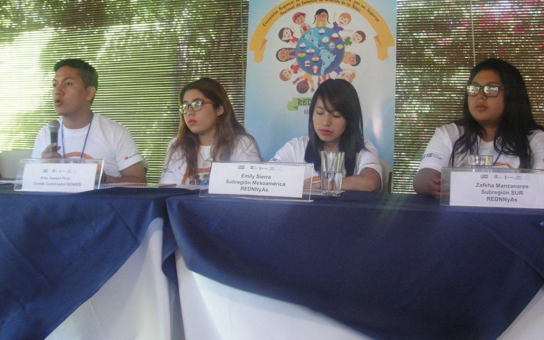 CORFAL y CINNJA participan en Encuentros Nacionales e Internacionales de Infancia y Juventud