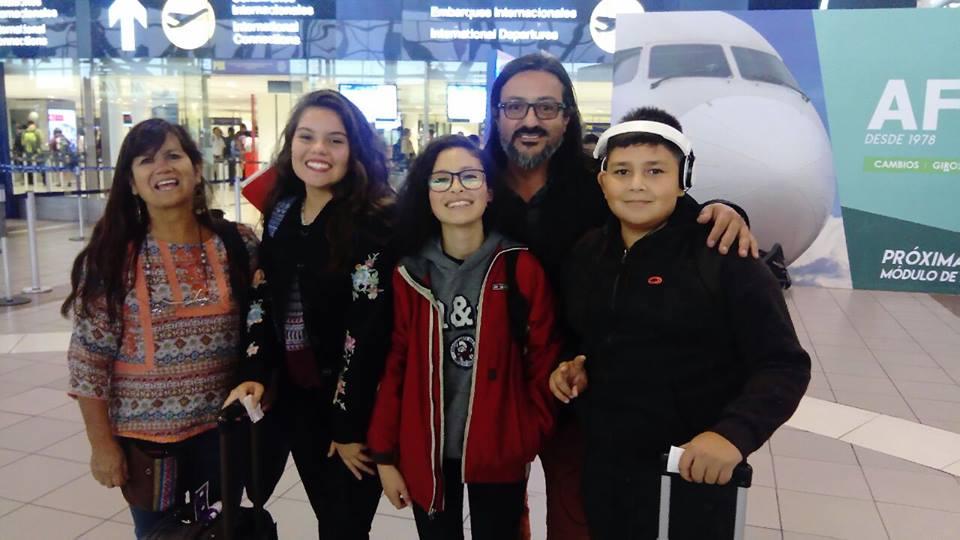 Niña integrante de CINNJA representa a niños y niñas de Arica en Encuentro en Uruguay