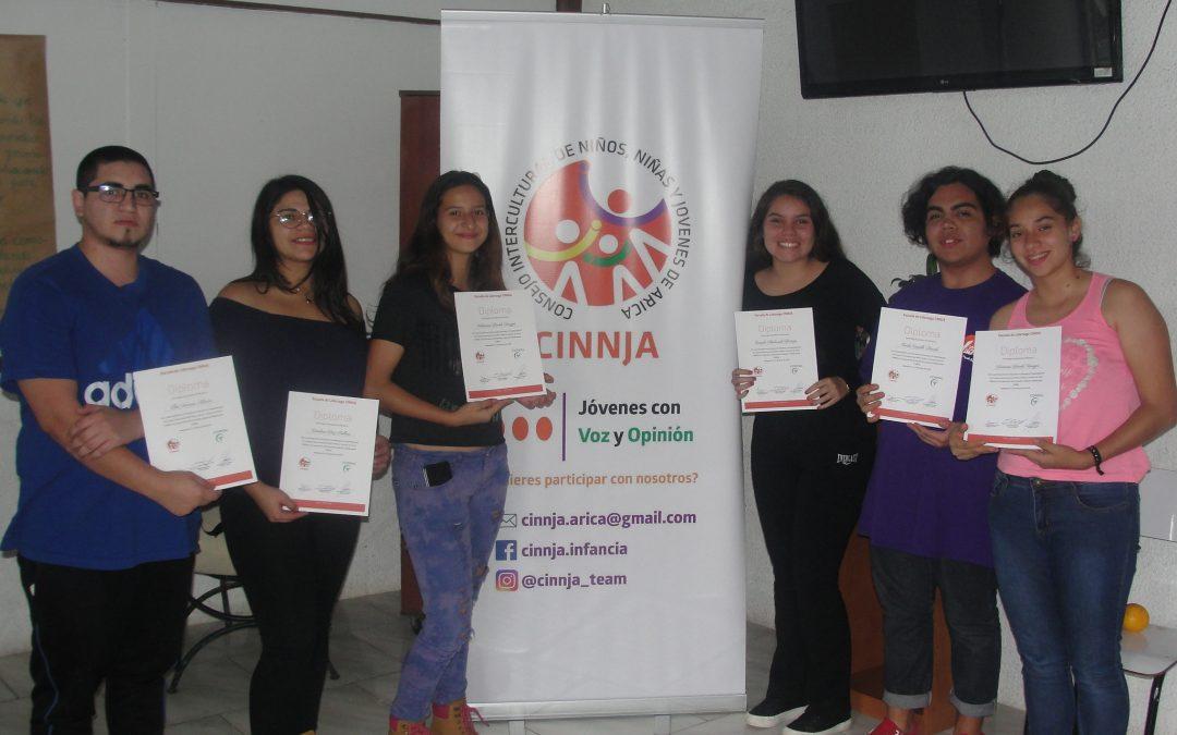 CORFAL realiza Escuela de Liderazgo con jóvenes de grupo CINNJA