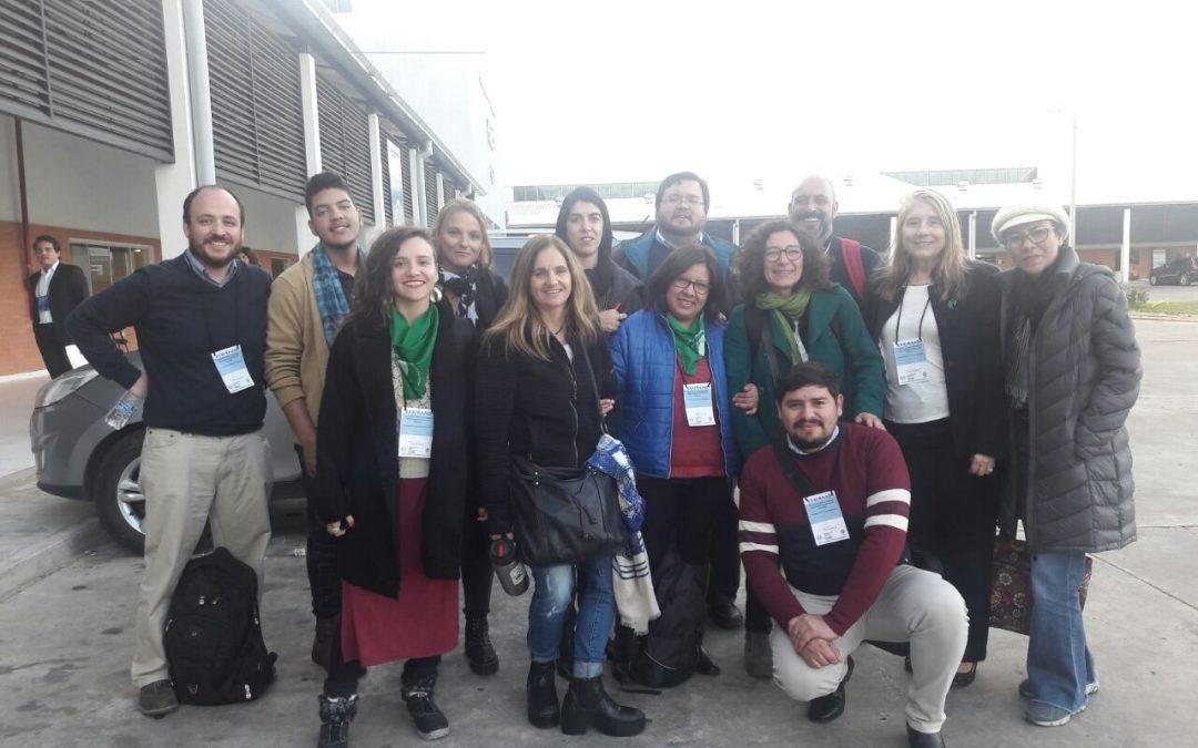 Representante CORFAL-ROIJ participa en importante Seminario Internacional de Protección de Niñas, Niños y adolescentes de MERCOSUR.