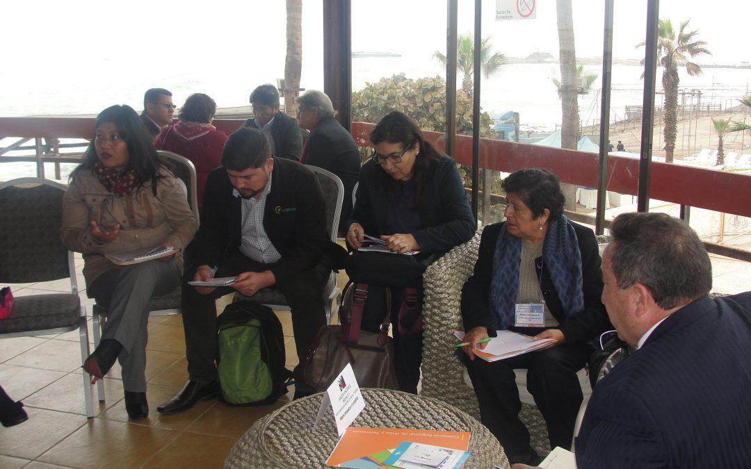 CORFAL participa de VII Comité de Integración y Desarrollo Fronterizo Chile-Perú desarrollado en Arica