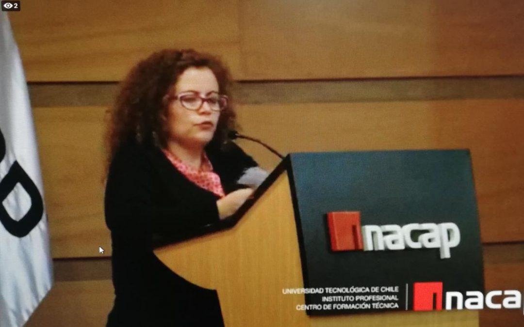Profesional CORFAL expone en Congreso de Ciencias Sociales en Valparaíso
