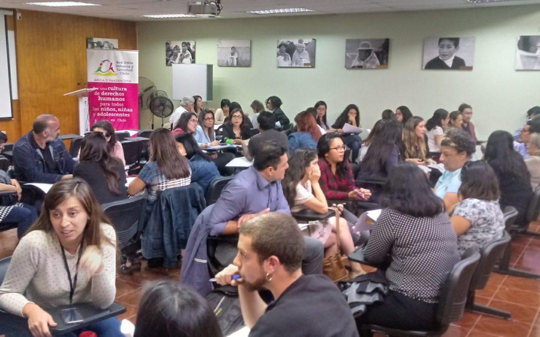 "ROIJ Arica realizó primer ""Diálogo por la Infancia"""