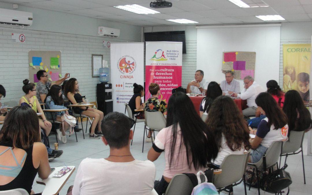Encuentro Nacional ROIJ Chile reunió a niños y niñas de 4 regiones del país en CORFAL
