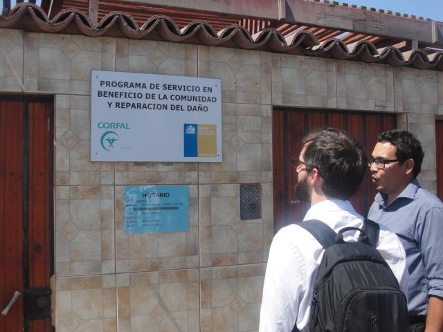 Asesores Nacional SENAME visitaron Programas CORFAL RPA