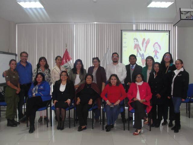 CORFAL participa de jornada de intercambio de Políticas Publicas de Niñez de Arica y Tacna